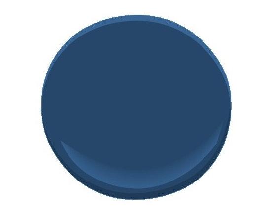 Benjamin Moore Down Pour Blue 2063-20 -