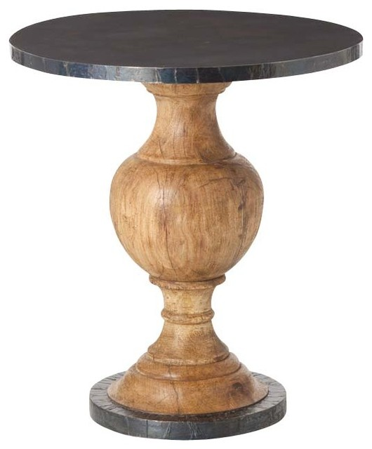 Everett Entry Table Small Traditional Side Tables And