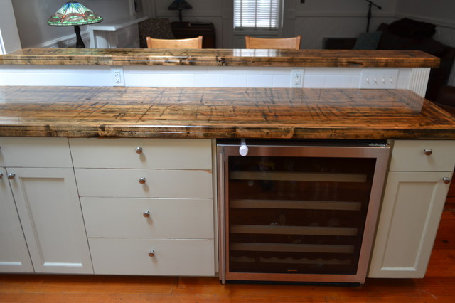 Reclaimed Wood Countertops WB Designs - Reclaimed Wood Countertops WB Designs