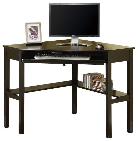 Porto Corner Desk By Furniture Of America Contemporary