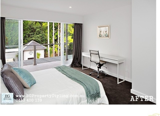 Style for Sale:  5-BR Modern Day Home modern-bedroom