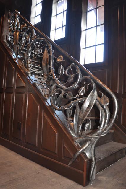 Gold Winning Iron Handrail Tampa By Vasquez Custom