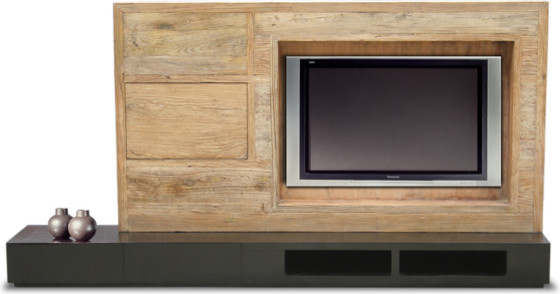 Custom Entertainment Center - Eclectic - Entertainment Centers And Tv Stands - other metro - by ...