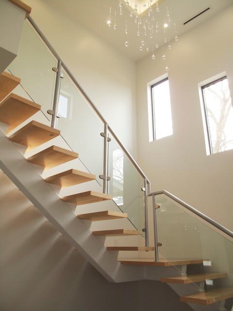 Artistically Modern modern-staircase