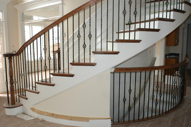 IRON BALUSTER UPGRADE : home design from www.houzz.com size 640 x 426 jpeg 87kB
