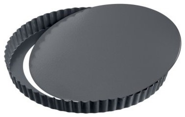 Kaiser La Forme Plus Quiche Pan with Removable Bottom modern-pie-and-tart-pans
