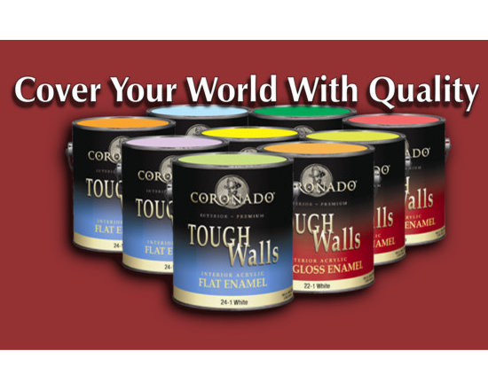 Wallcovering and Paint - We feature the full line of Coronado Paints by Benjamin Moore. Any color and in any finish!