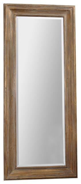 Uttermost Filiano Wood Floor Mirror contemporary-floor-mirrors