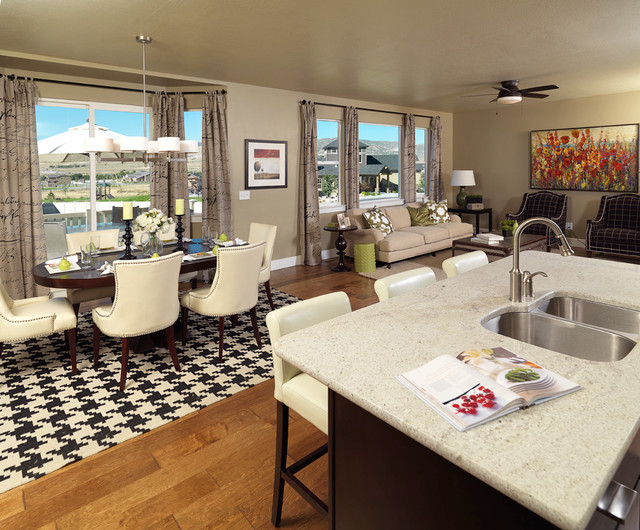 Thanksgiving Meadows in Lehi traditional-kitchen