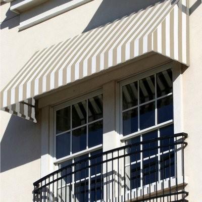 Awntech Beauty-Mark New Yorker 5 ft. Window/Door Awning modern-windows