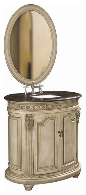 Belle Foret Model BF80042R Single Basin Vanity  bathroom vanities and sink consoles