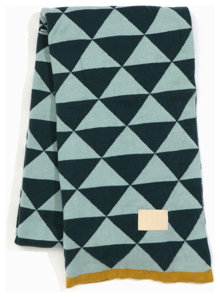 Ferm Living - Remix Blanket modern-throws