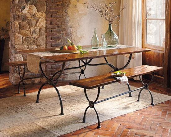 Cimarron Walnut & Iron Dining Collection -