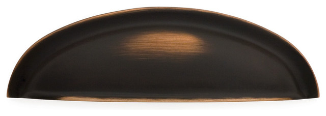 K341-VB Venetian bronze Classic Suite cup pull traditional-cabinet-and-drawer-handle-pulls