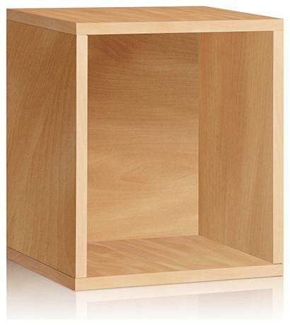 Eco Friendly Cedar Modular Storage Cube Plus - Modern - Storage Cabinets - by Bellacor
