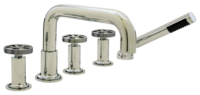 Altmans ON21PC OniahDeck Set Hand Shower contemporary-bathroom-faucets-and-showerheads