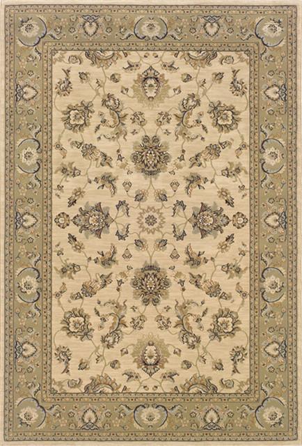 "Sphinx Ariana 2153C Indoor Polypropylene Area Rug 6'7"" x 9'6"" traditional-rugs"