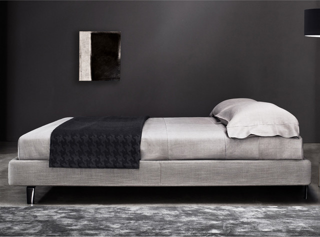 minotti tatlin sommier bed contemporary beds by switch modern. Black Bedroom Furniture Sets. Home Design Ideas