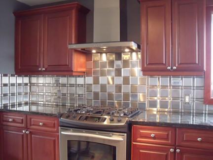 Stainless Steel Tiles modern-tile