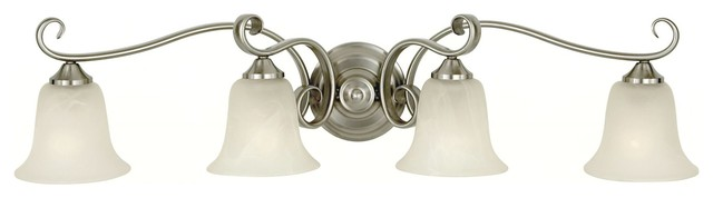 Murray Feiss Vista Traditional Bathroom / Vanity Light X-SB-40401SV transitional-bathroom-vanity-lighting