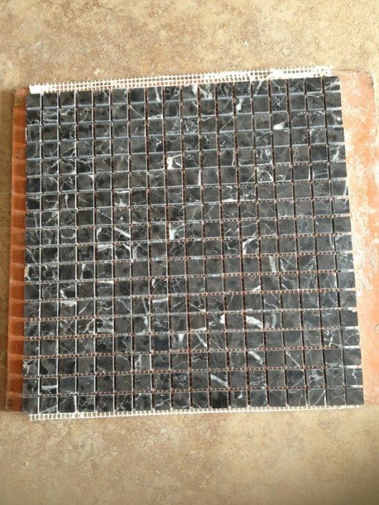 Stone Mosaic, Marble Mosaic - nero marquina stone mosaic, marble mosaic ,stone tile ,stone pattern, marble tile, marble pattern  www.linlinstone.com