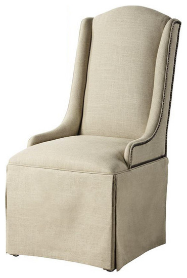 Custom Skirted Dining Chair traditional-dining-chairs