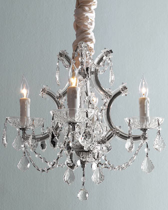 Four-Light Maria Theresa Chandelier traditional chandeliers