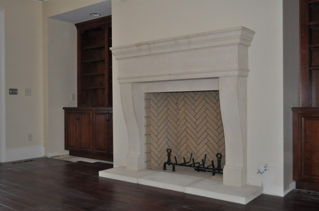 CAST STONE FIREPLACE MANTELS Traditional Indoor