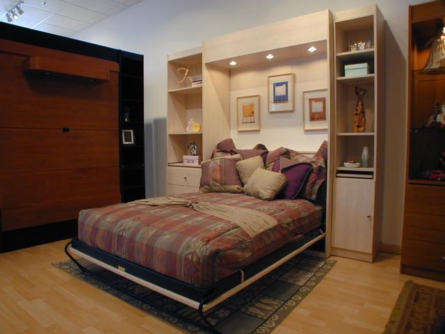 Murphy Bed Design contemporary-murphy-beds