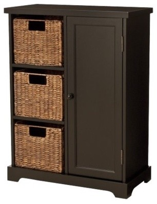 Entryway Storage Cabinet, Espresso - Contemporary - by Target