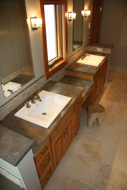 Squak Mountain Stone Hazel Modern Vanity Tops And Side Splashes Seatt