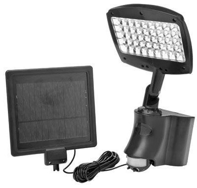 LED Motion Activated Solar Flood Light contemporary-outdoor-flood-and-security-lights