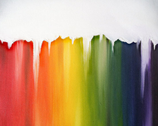 LGBT Support Abstract Fine Art Giclée Print by Heather Ackley Art -