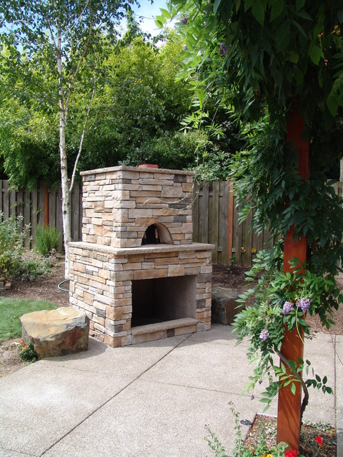 Pizza oven traditional-patio