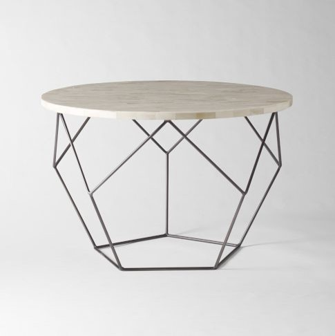 Origami Coffee Table | West Elm modern coffee tables