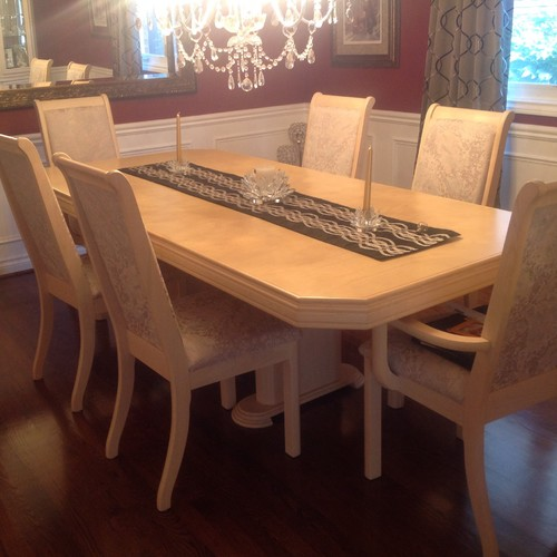 90s Dining Room Set Needs Modernizing