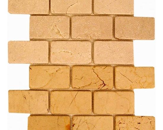 2x4 Brick pattern stone mosaic - 2x4 stone brick pattern mosaic