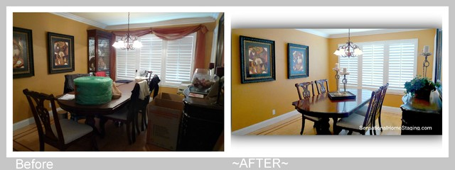 Home Staging ~ Before & AFTER 2012 contemporary