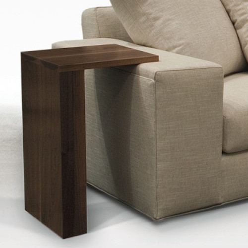 Salon table contemporary side tables and end tables for Slim side table