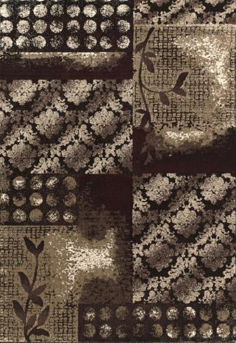 "United Weavers of America Shelby Boston Black 5'3"" x 7'6"" Area Rugs modern-rugs"