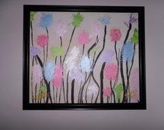 Truffula Trees contemporary-paintings