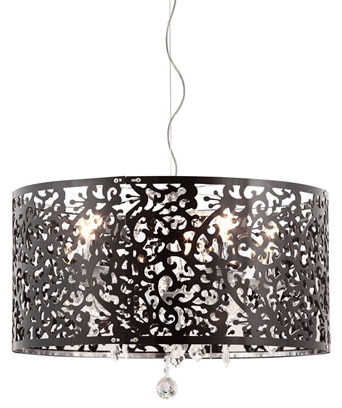 Zuo Modern Nebula Ceiling Lamp Black modern-flush-mount-ceiling-lighting