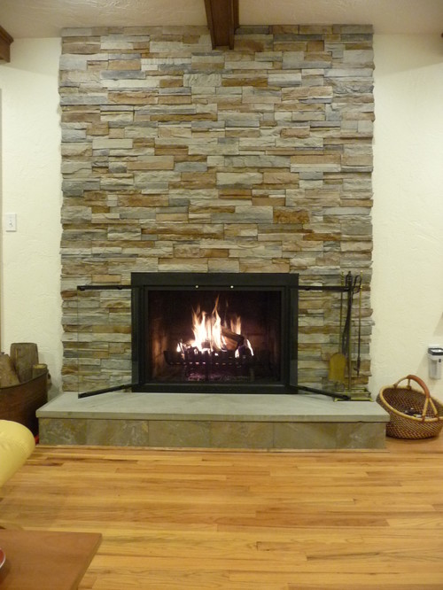 Post Some Before And After Pictures Of Your Fireplace Renovation