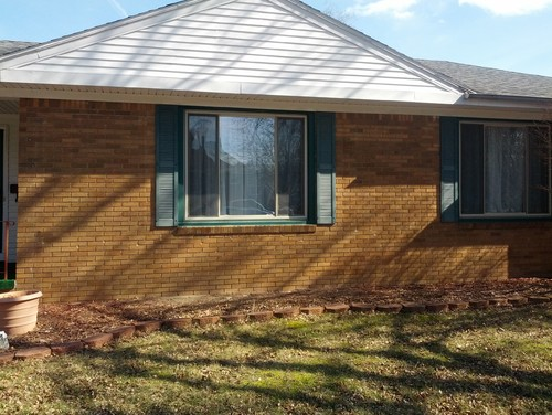 Need Curb Appeal Need Trim Color For Orange Brick House