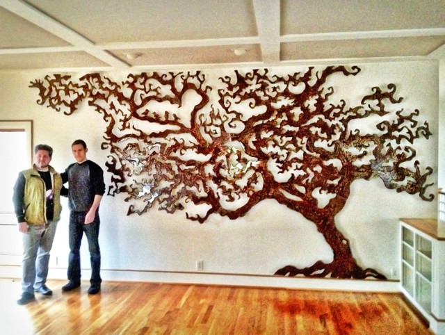 Custom Tree Of Life Rowland Augur Fine Art Contemporary Artwork