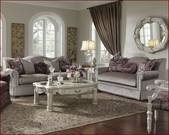 Aico furniture living room set monte carlo ii ai 53815 for Aico living room sets