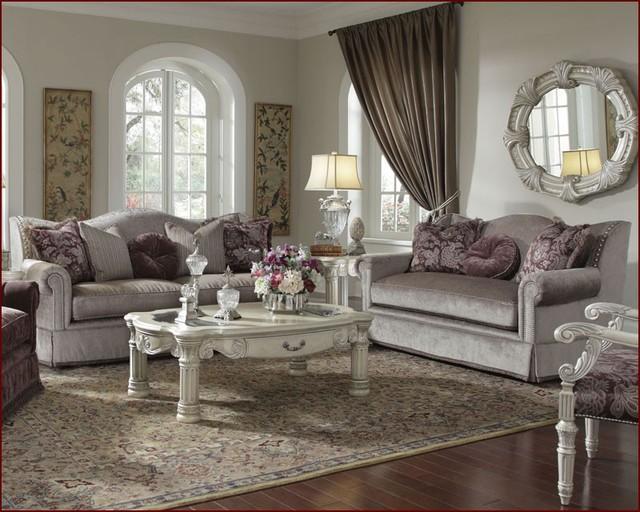 Aico Furniture Living Room Set Monte Carlo Ii Ai 53815 Ltmnk 00s Traditional Fabric