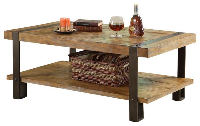 Riverside Sierra Rectangular Cocktail Table in Landmark ...