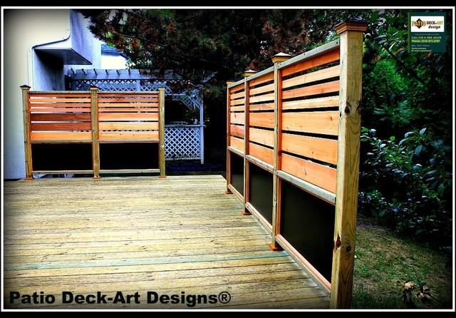 PATIO DECK-ART DESIGNS OUTDOOR LIVING contemporary-patio
