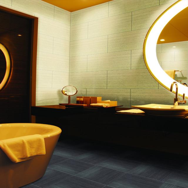 Daltile fabrique soleil linen eclectic floor tiles for Soleil floors